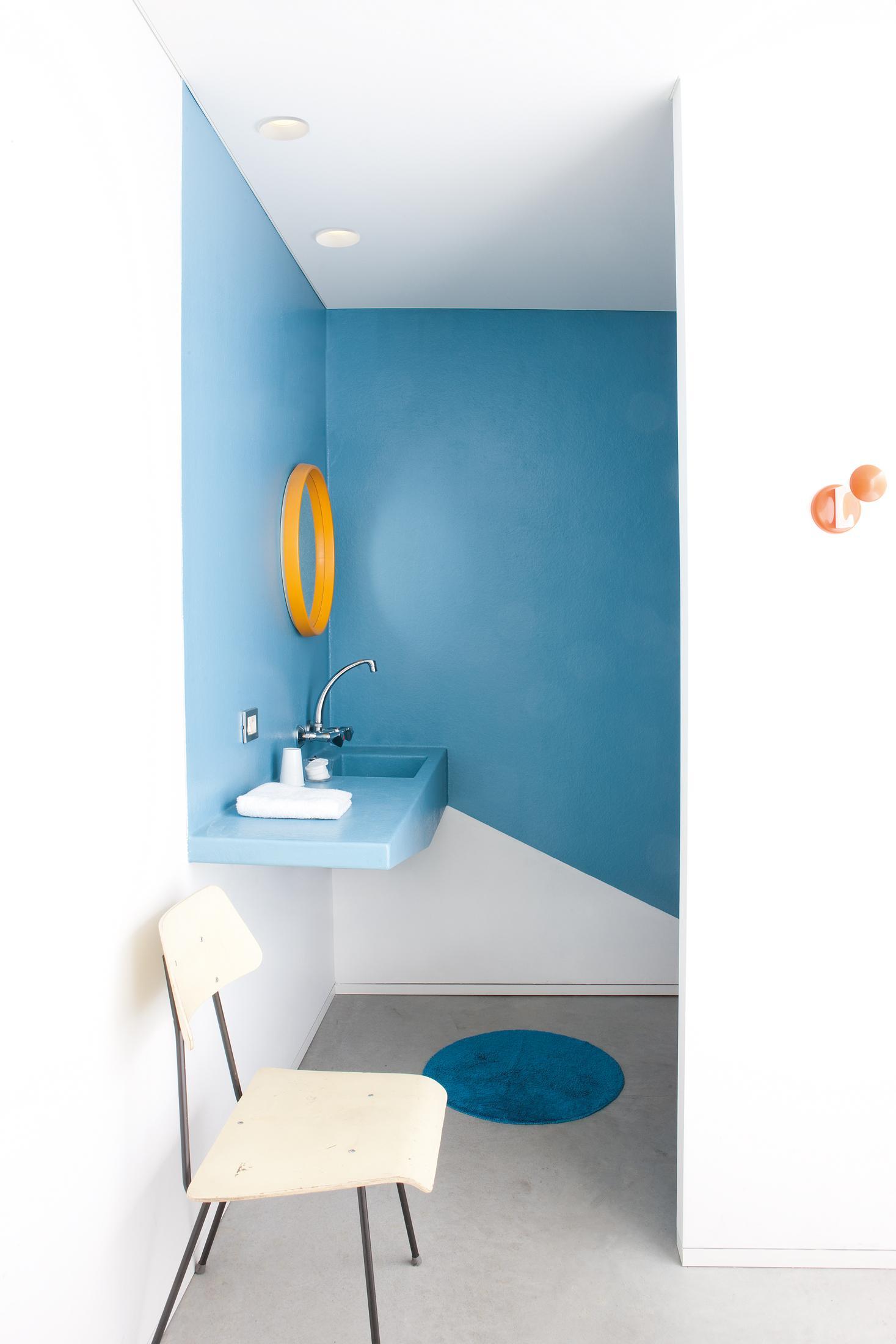 blaue wandgestaltung bilder ideen couchstyle