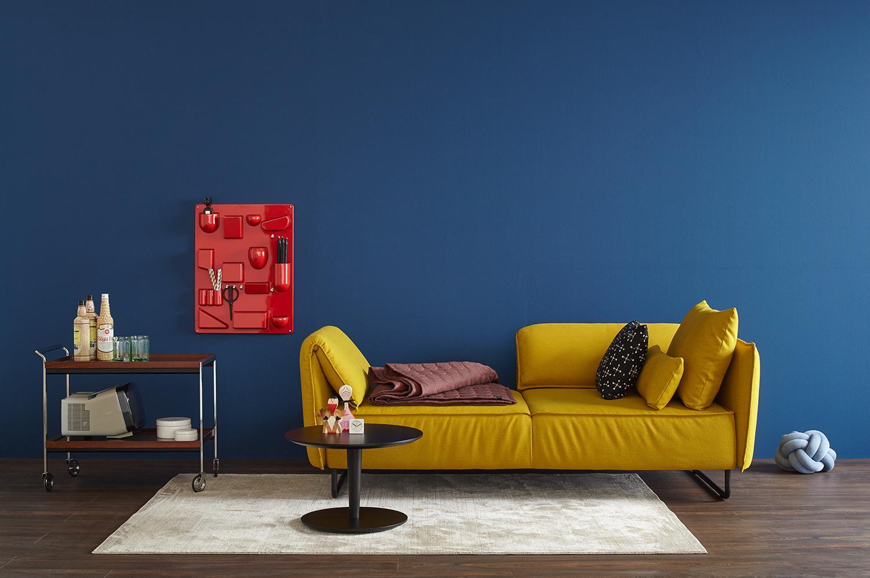 wandfarbe in blau bilder ideen couchstyle. Black Bedroom Furniture Sets. Home Design Ideas