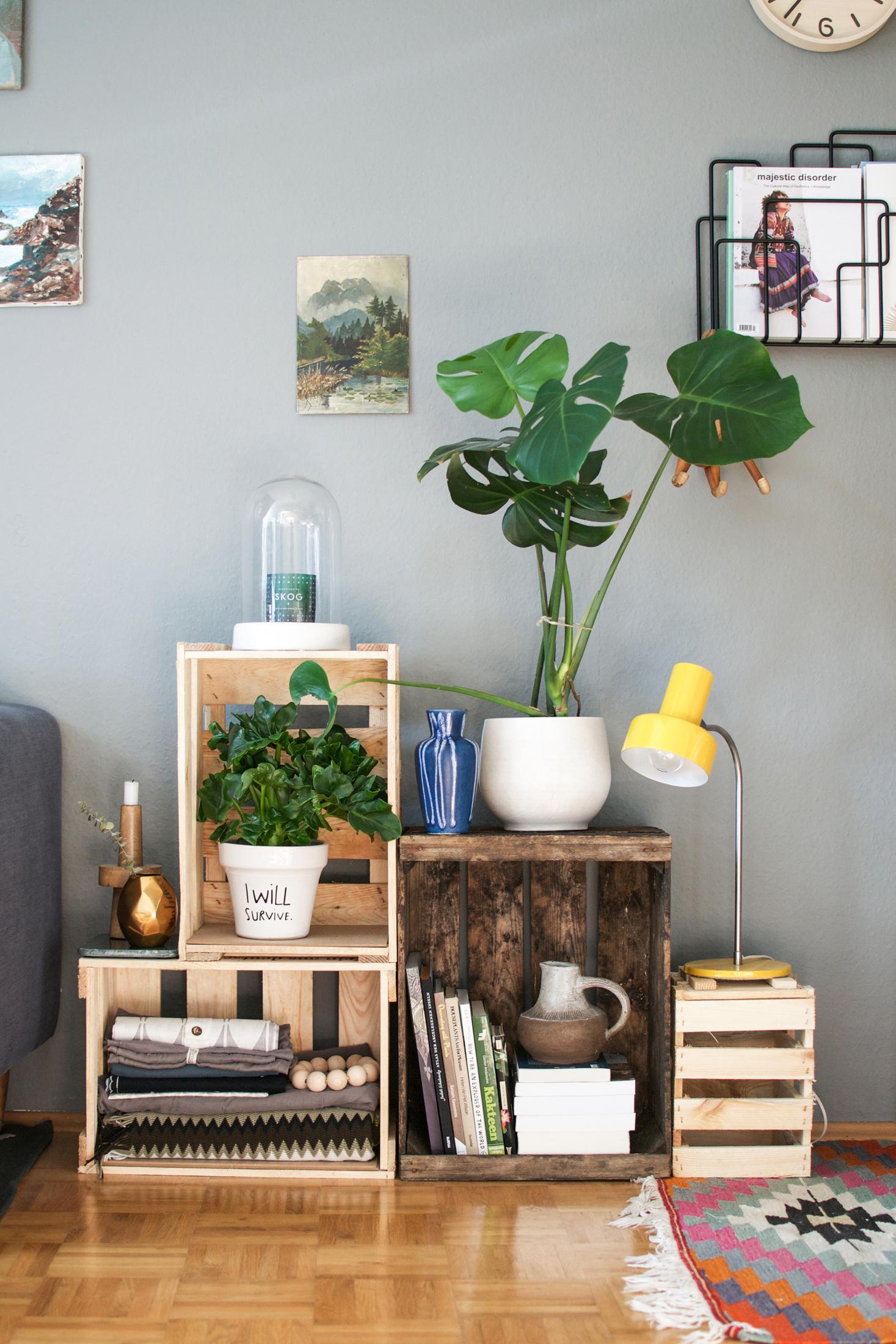 Weinkiste bilder ideen couchstyle - Weinkisten deko ideen ...