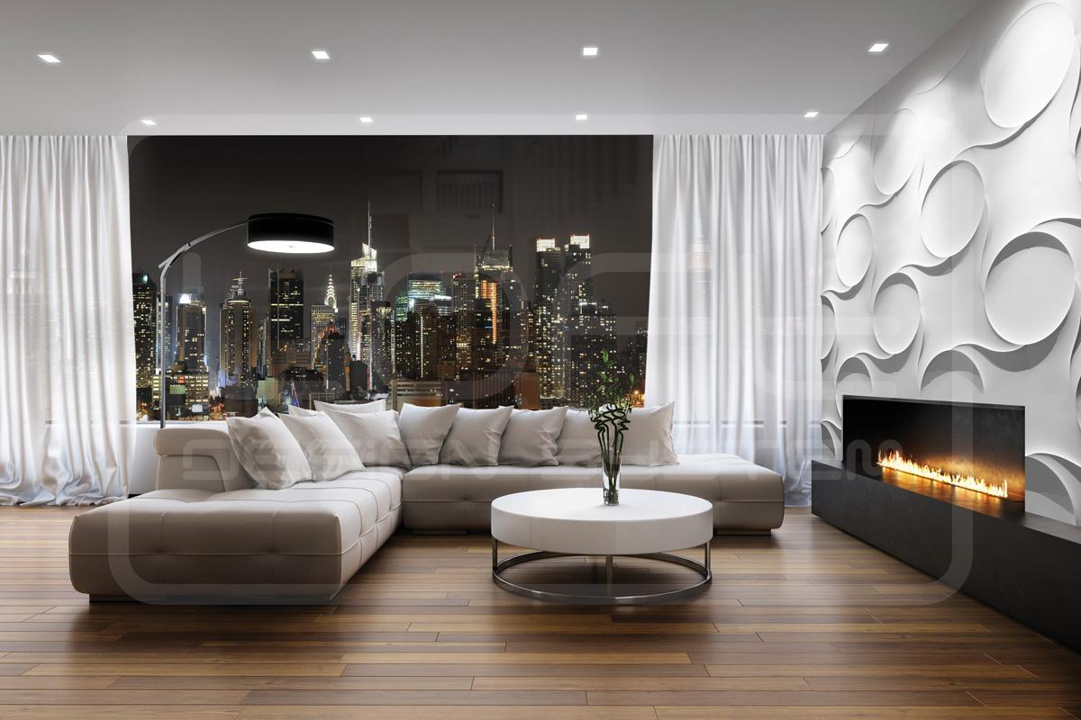 3d wandgestaltung bilder ideen couchstyle. Black Bedroom Furniture Sets. Home Design Ideas