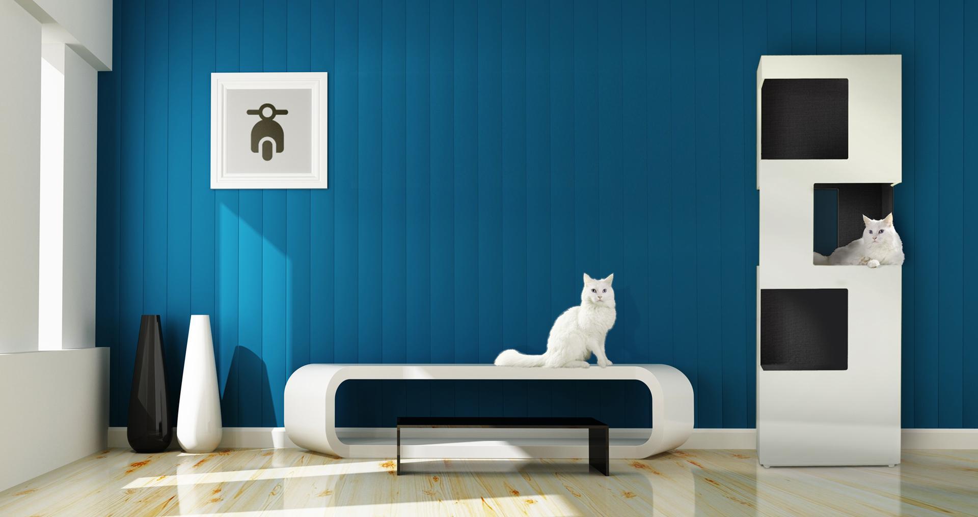 kratzbaum bilder ideen couchstyle. Black Bedroom Furniture Sets. Home Design Ideas