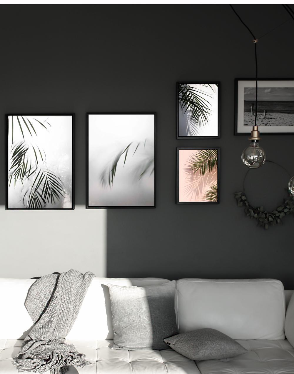wanddeko bilder ideen couchstyle. Black Bedroom Furniture Sets. Home Design Ideas