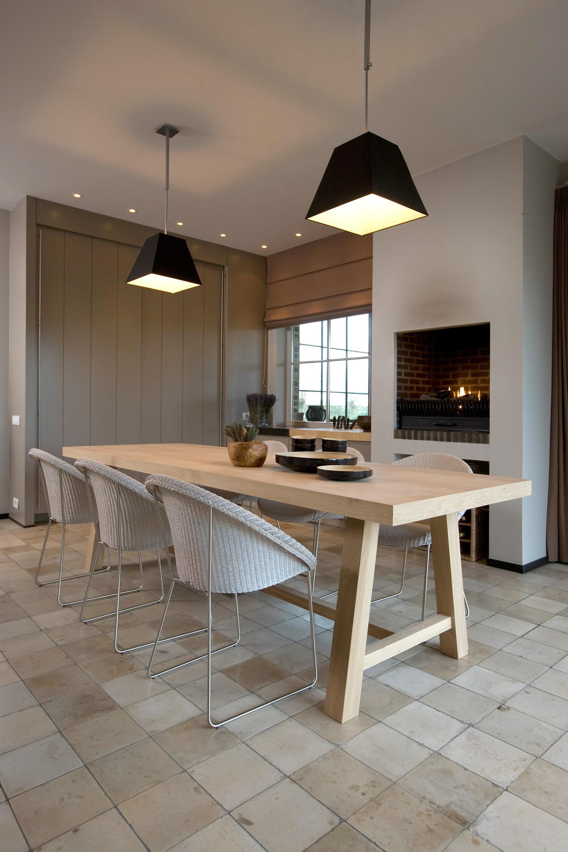 Esszimmer landhausstil bilder ideen couchstyle - Einrichten im modernen landhausstil ...
