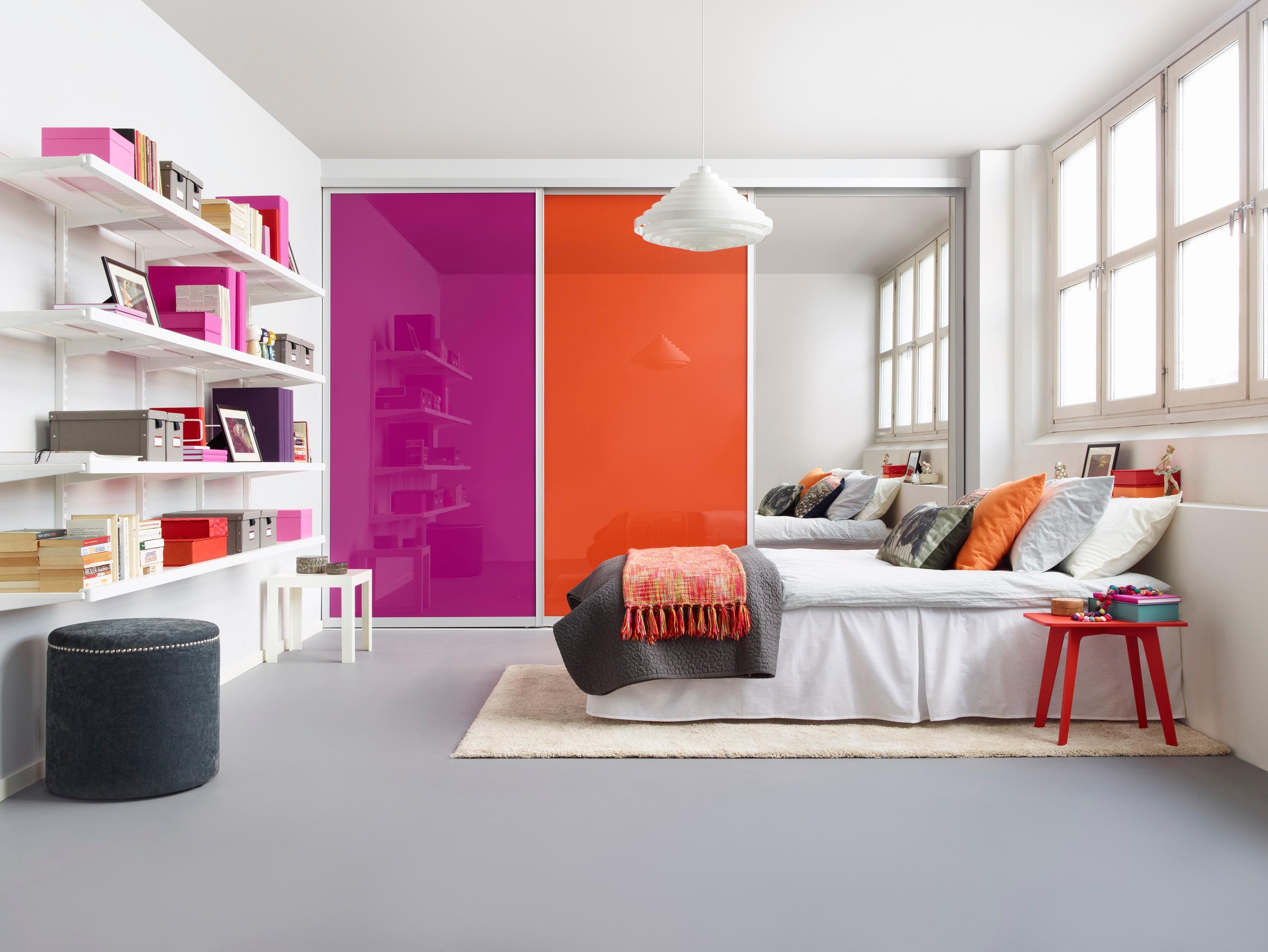 Einbauschrankflur bilder ideen couch for Zimmergestaltung jugendzimmer