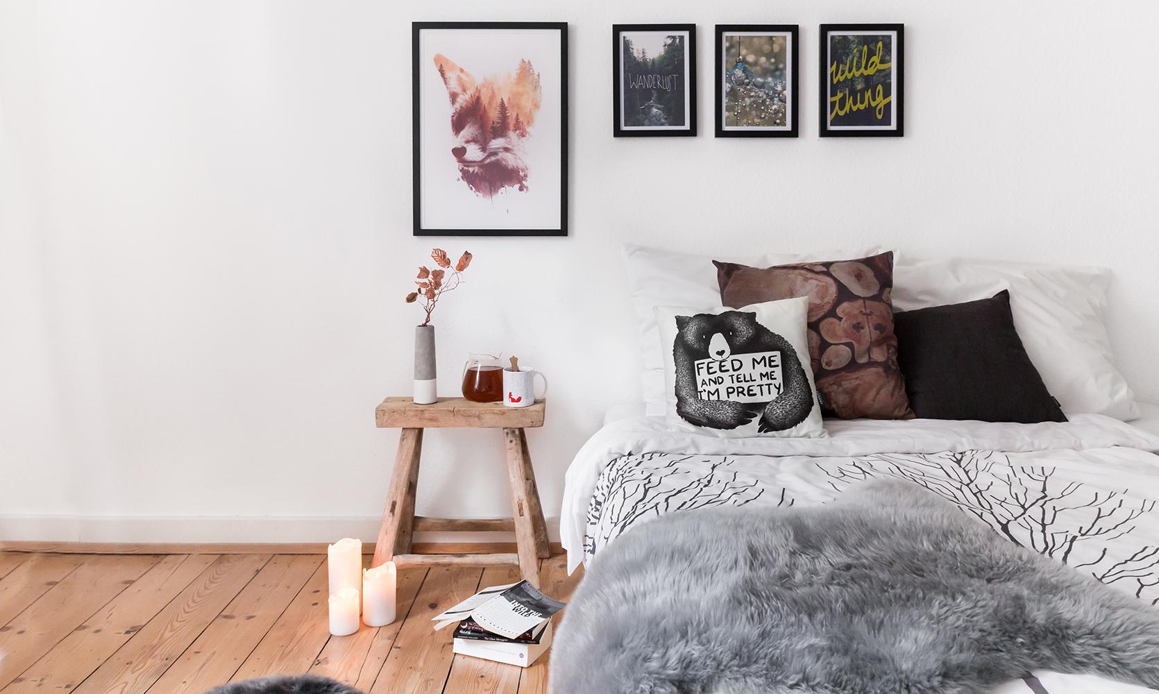 Schlafzimmer wandgestaltung bilder ideen couch for Ideen zur zimmergestaltung