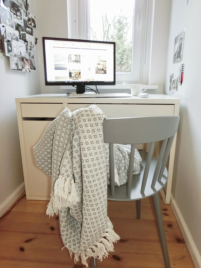 Schreibtisch inspiration so macht arbeiten spa - Schreibtisch vor fenster ...