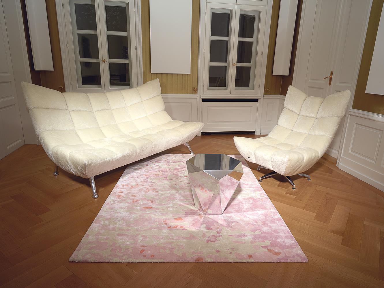 Cremefarbenes sofa bilder ideen couchstyle - Teppich cremefarben ...