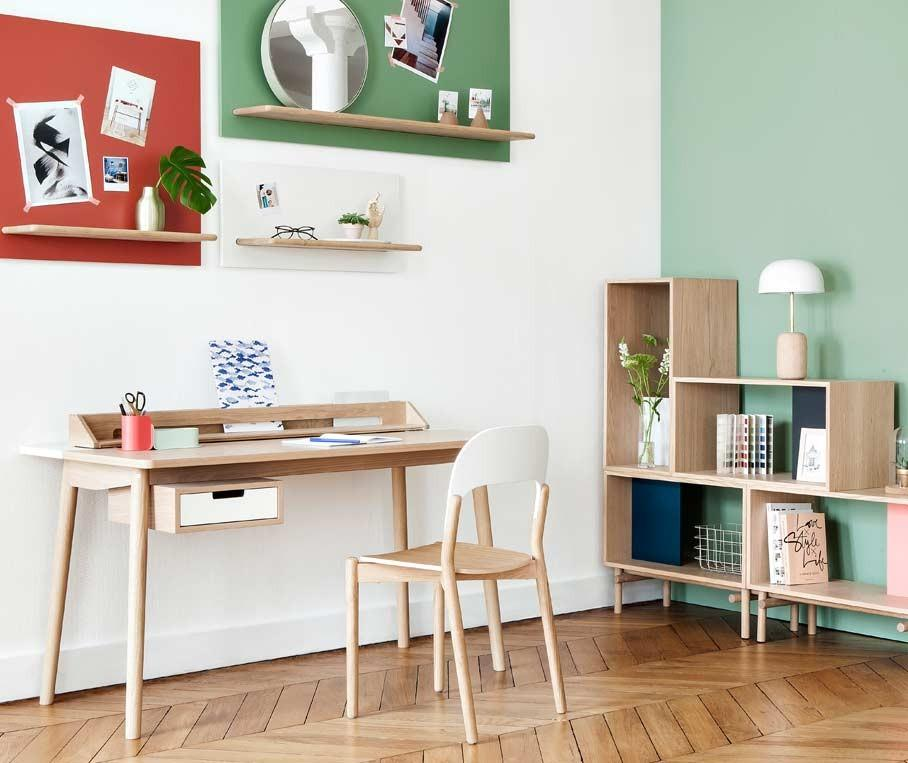 Homeoffice bilder ideen couchstyle for Schreibtisch klappbar wand