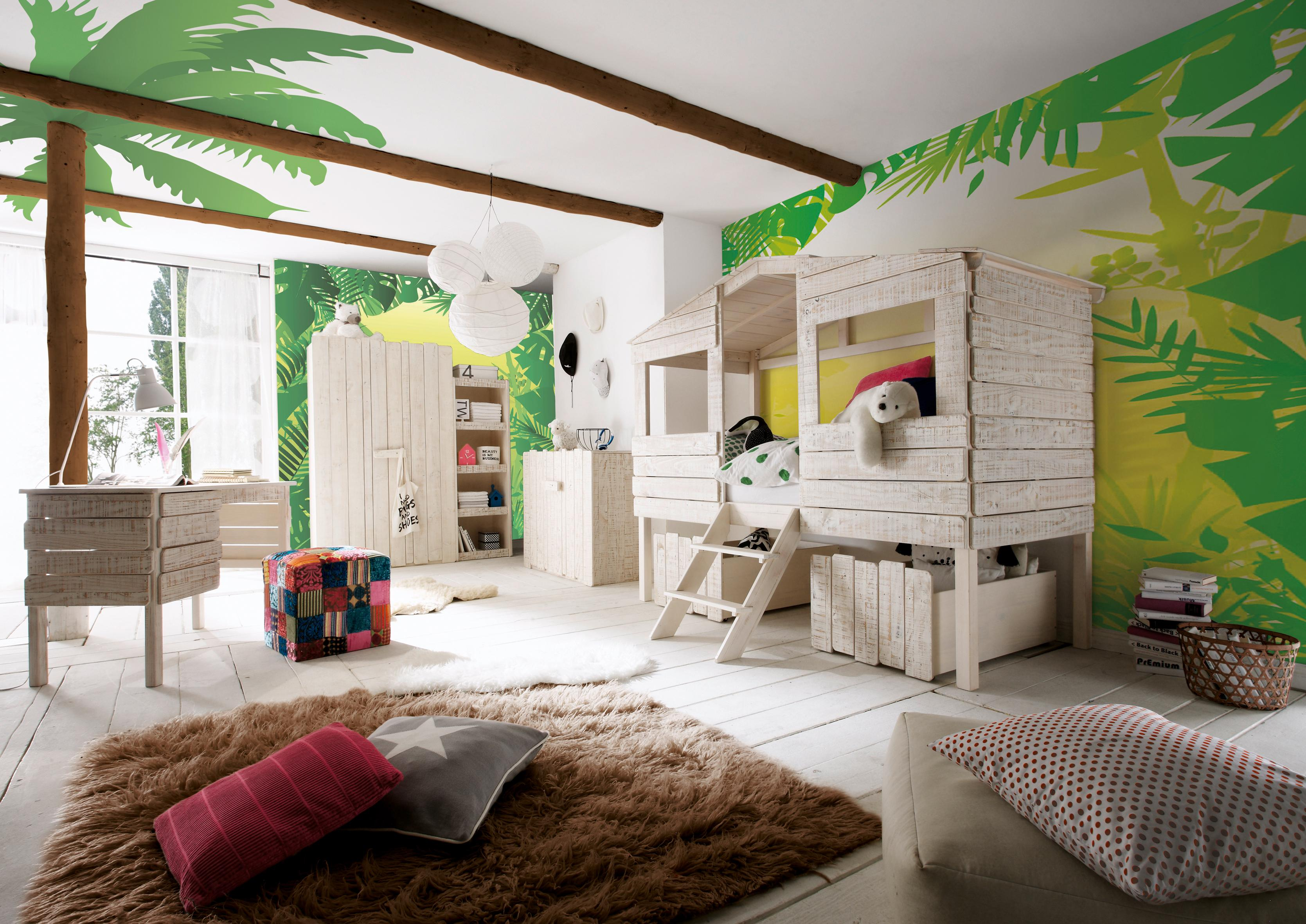 Hochbett bilder ideen couchstyle for Kinderzimmer 1 jahr