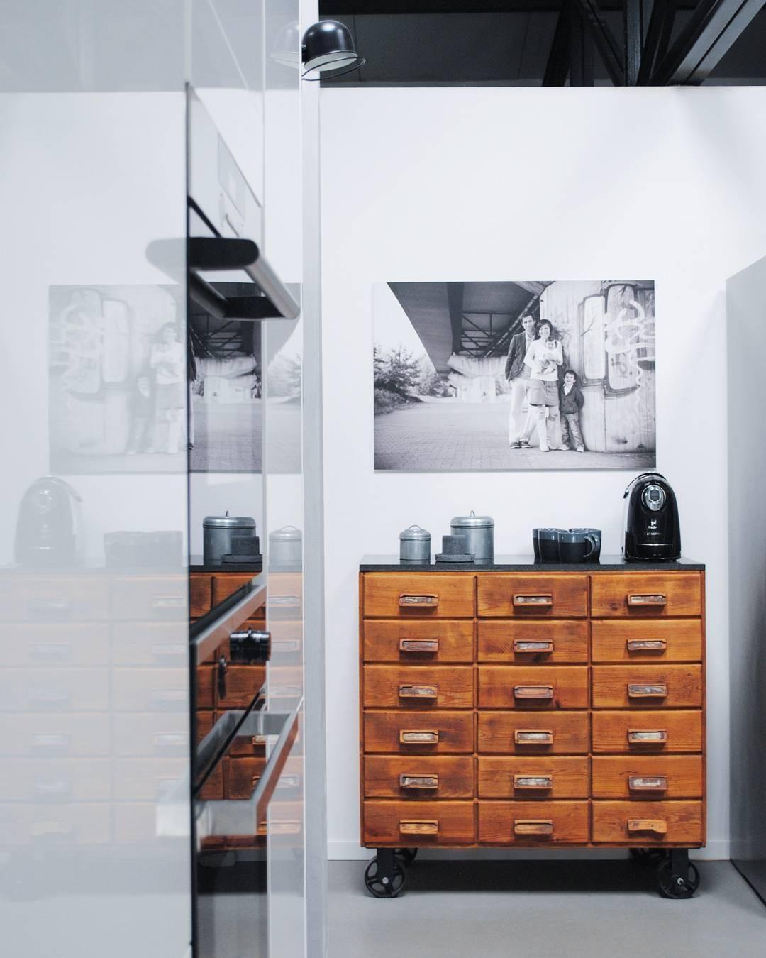 Vintage Loft Kitchen: Tolle Einrichtungsideen Rund Um Den Küchenschrank