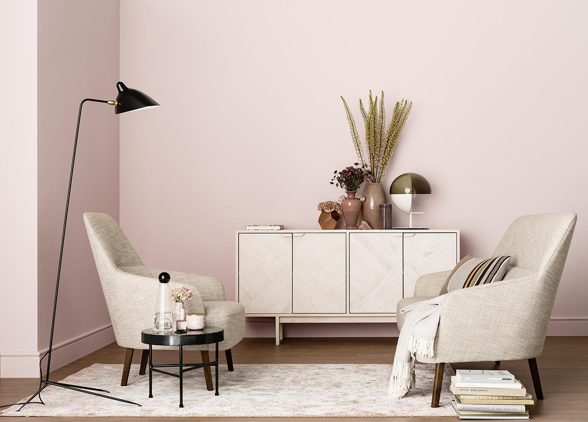 rosa wandfarbe bilder ideen couchstyle