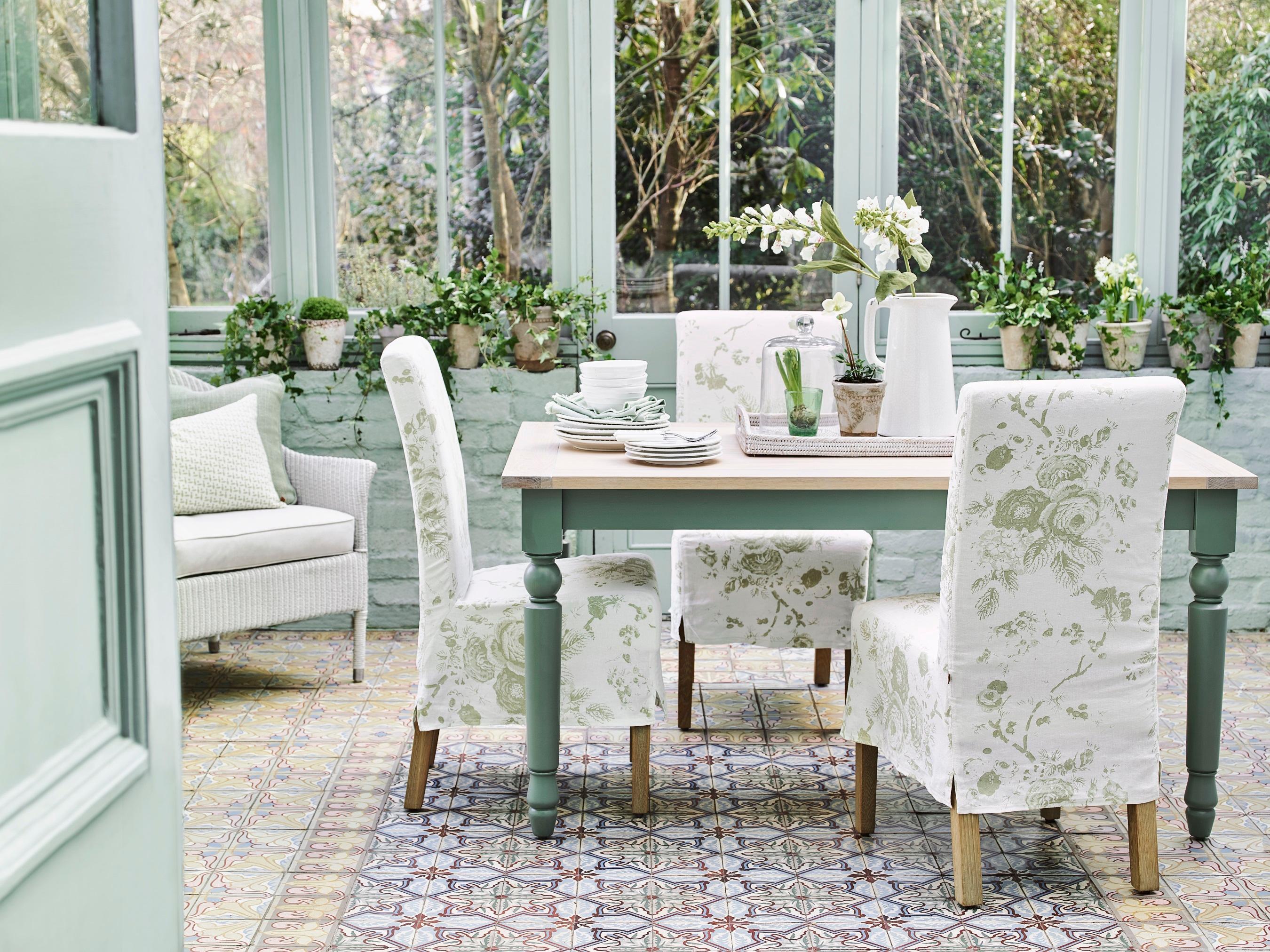 Wandfarbe in t rkis bilder ideen couchstyle - Landhausstil wandfarbe ...