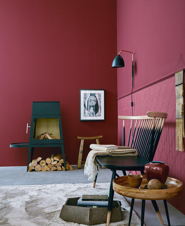 Kamin bilder ideen couchstyle for Wandfarbe kamin