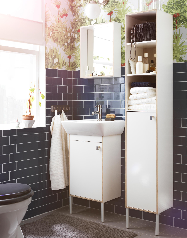 Kleine badezimmer bilder ideen couchstyle for Ideen kleines bad ikea