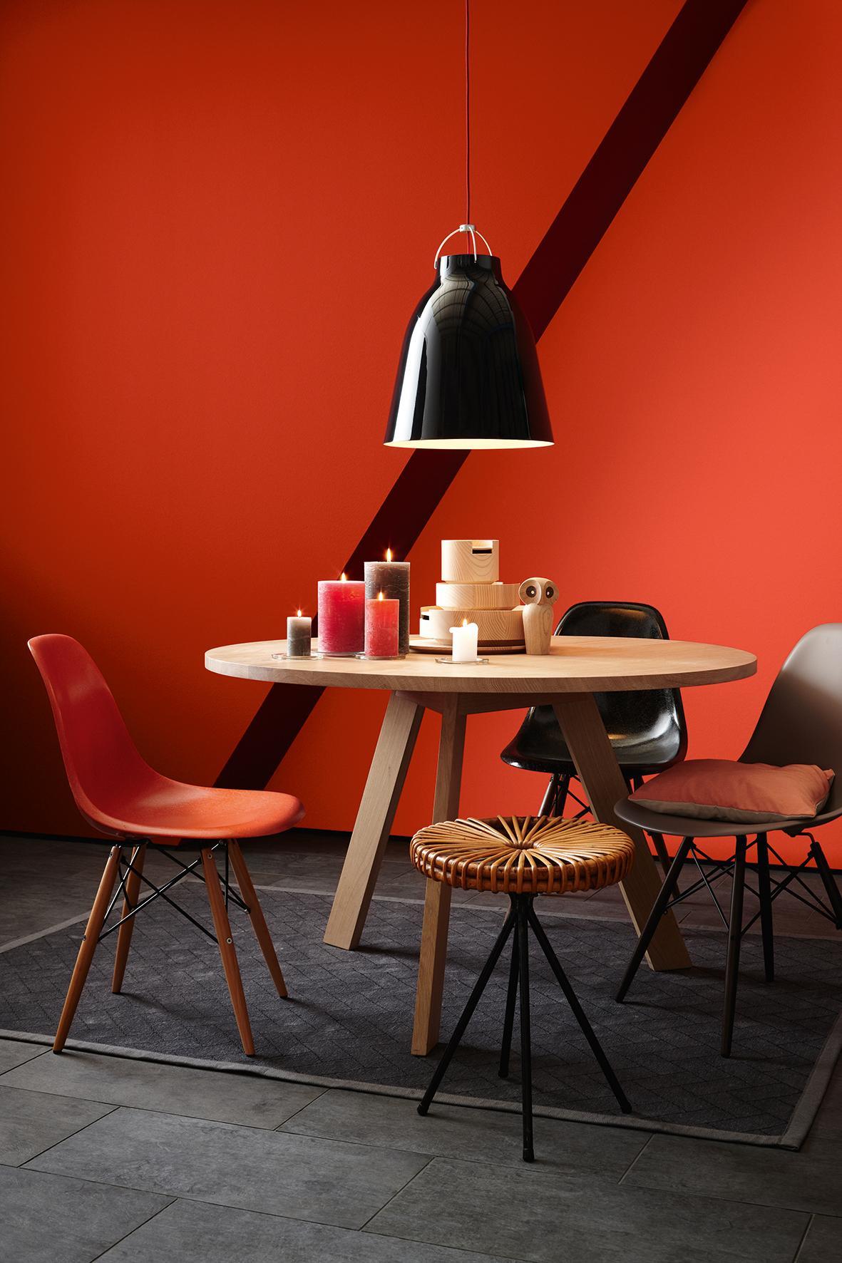 Rote wandfarbe bilder ideen couchstyle - Rote wandfarbe ...
