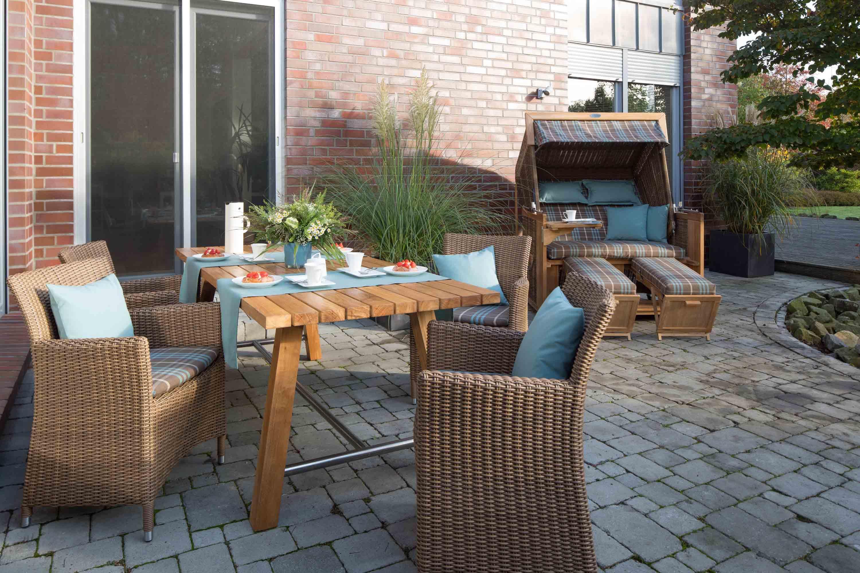 Strandkorb bilder ideen couchstyle - Holztisch terrasse ...