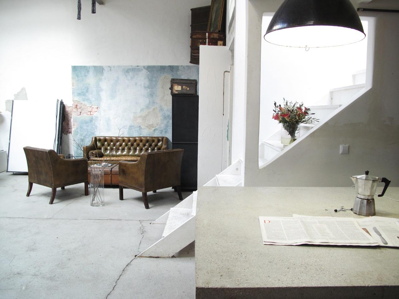 industriestil k che bilder ideen couchstyle. Black Bedroom Furniture Sets. Home Design Ideas
